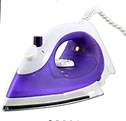 GloptookISteam Iron with Teflon Soleplate (1200 Watts) - Colour May Vary