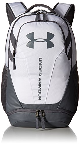 Under Armour Hustle 3.0 Backpack,White (100)/Graphite, One Size