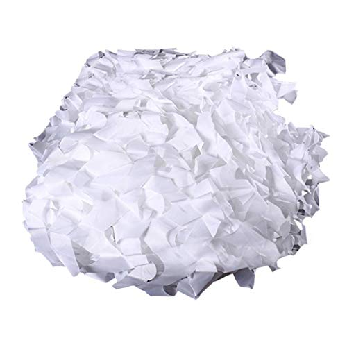 Schatten tuch Chunlan Tarnnetz-Filetarbeits-weißes 210D Polyester-Oxford-Stoff-Tarnungs-Netz Für Kampierendes Sonnenschutznetz-Patio-Balkon-Schattierungs-Netz (Size : 2x3m)