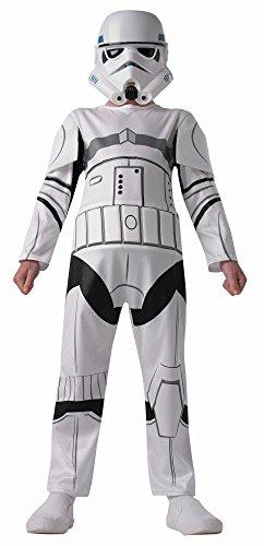Rubie's Star Wars Rebels Kinder Kostüm Stormtrooper Overall Maske XL ()