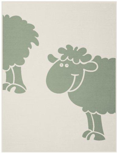 Bocasa Couverture en coton pour bébé 75 x 100 cm, rose