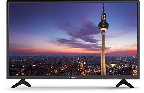 Nordmende Wegavision FHD32A 81 cm (32 Zoll) LED Flachbild-Fernseher (Full HD TV mit HDMI Anschluss - Triple Tuner Receiver integriert)