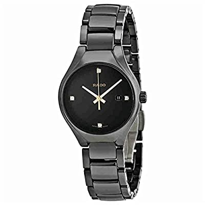Rado Women's True Diamond 30mm Ceramic Band & Case Quartz Watch R27059712