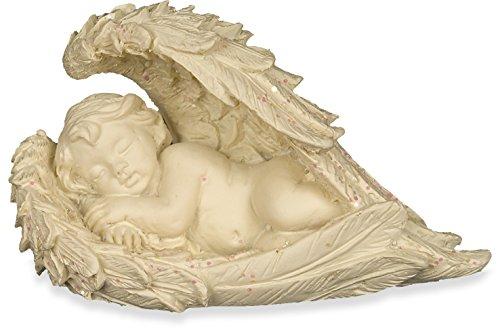 Angelo della gioia - piccola statuetta di cherubino in mini borsetta regalo