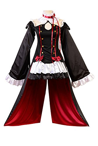 Preisvergleich Produktbild Seraph of the End Vampires Krul Tepes Uniform Cosplay Kostüm XXXL