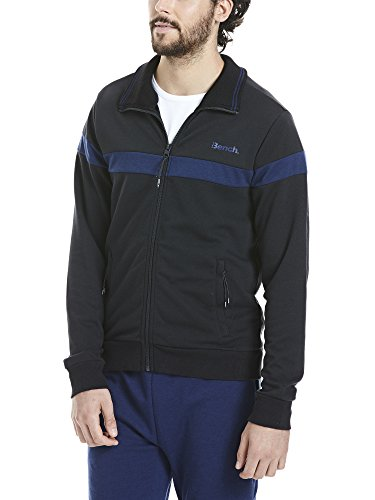 Bench Herren Funnel Neck Sweatjacke Black