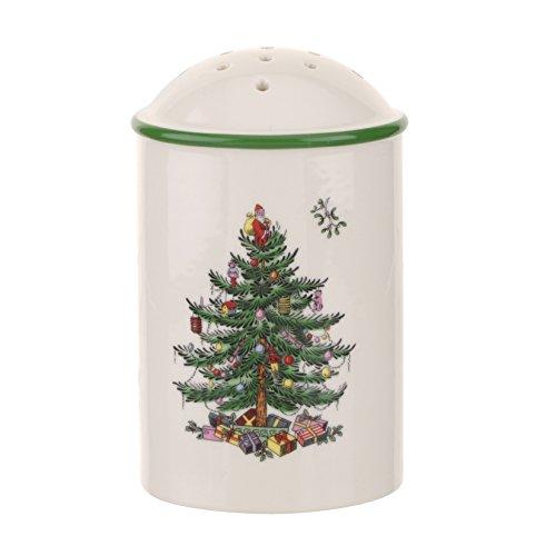 Spode Weihnachtsbaum Christmas Tree Shaker mehrfarbig Spode China Christmas Tree
