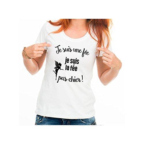 Inconnu - T-Shirt Je suis Une fée