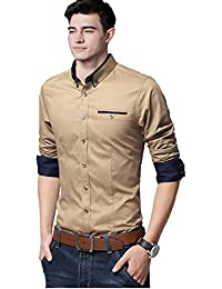 IndoPrimo Men's Slim Fit Shirt