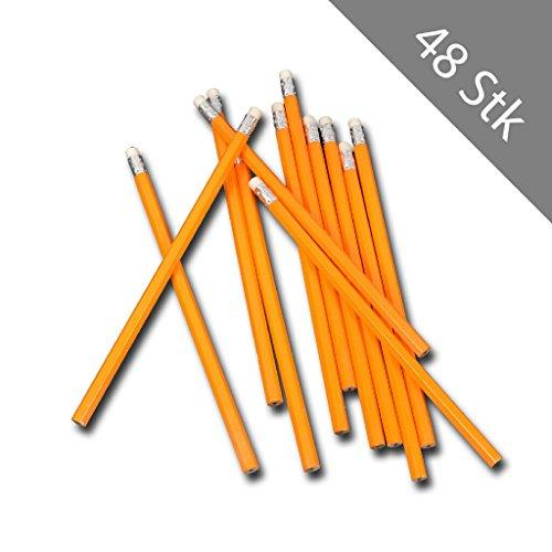 Stifte Graphitstifte Pencil Zeichenstifte mit Radiergummi ()