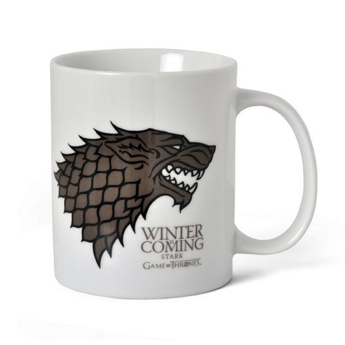 SD Toys SDTSDT27301 - Taza cerámica con diseño Winter Is Coming Stark (SDTSDT27301) - Taza Winter is Coming Stark
