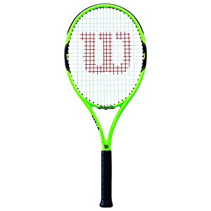 Wilson Tennisschläger, Milos 100, Anfänger und Freizeitspieler, Griffstärke L2, WRT30040U2