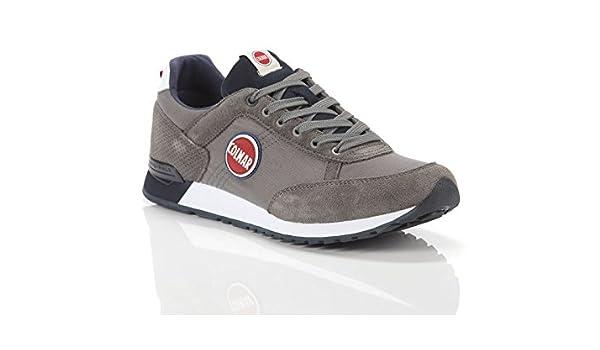 Colmar, Uomo, Travis Colors 006 Gray, Canvas, Sneakers