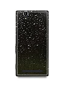 Sony Xperia T2 Ultra Cover,Sony Xperia T2 Ultra Case,Sony Xperia T2 Ultra Back Cover,Rain Drops Sony T2 Ultra Mobile Cover By The Shopmetro-29333