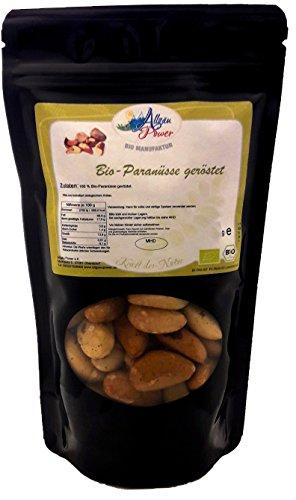 Bio Paranüsse 1 x 750 g geröstet Vorteilspack