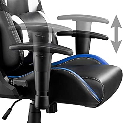 411YWAq FPL. SS416  - TecTake Silla de Oficina ergonomica Racing Gaming con Soporte Lumbar