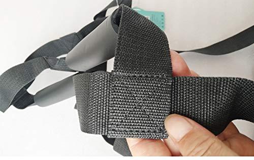 411YWfr6tTL - Asistente de escalera de cama: dispositivo de ayuda de extracción con correa de la manija, seguridad del suministro médico Seguro de elevación de la cama, asistencia de escalera de cuerda Anciano