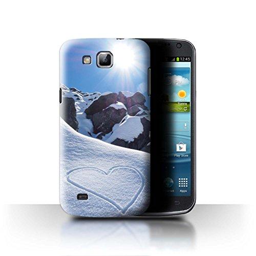 Stuff4® Hülle/Case für Samsung Galaxy Premier/I9260 / Liebe die Berge Muster/Skifahren/Snowboard Kollektion