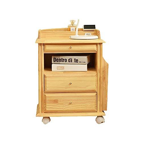 SCDCTG Multifunktionales Aufbewahrungsschloss für Nachttisch, Schlafzimmer, Nachttisch, Linke und rechte Seite, verstellbar, Holz - Master-schlafzimmer-möbel-sets
