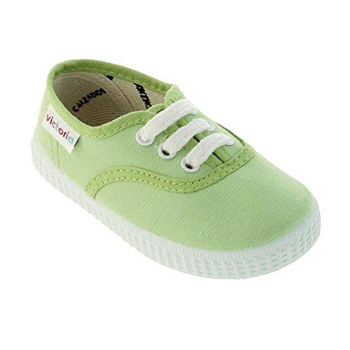 Victoria Inglesa Lona Unisex - Erwachsene Sneaker Pistazie