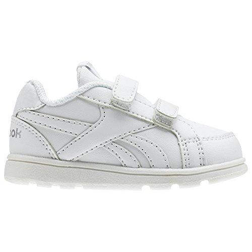 Premier Reebok Alt Royal, Chaussures Pour Enfants Unisexe, Blanc (blanc / Argent), 34 Eu