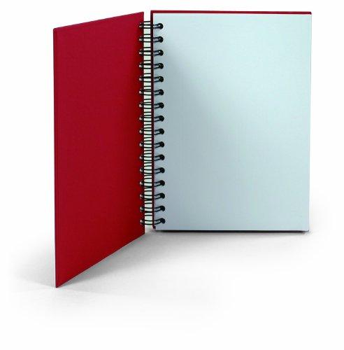 Preisvergleich Produktbild Rössler 1874452361 - S.O.H.O. Spiral-Notizbuch A5, 80 Blatt, rot