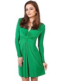 KRISP Women's Original Ruched Dress