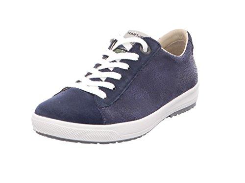 Mulheres 25 Azuis 25 Baixos Sapatos Copo Em Com Hartjes 46362 H Larga wq16BfEIF