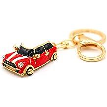 Mini Auto Cooper rojo llavero de VMG de Store