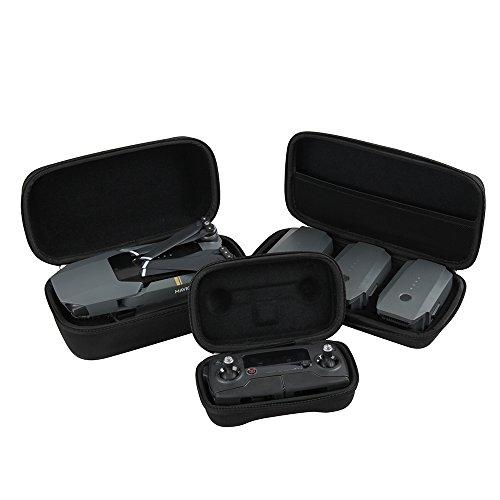 Hart EVA Reise Fall zum DJI Mavic Pro Fly Faltbare Drone Body + Fernbedienung Transmitter + 3 Batterien durch Hermitshell