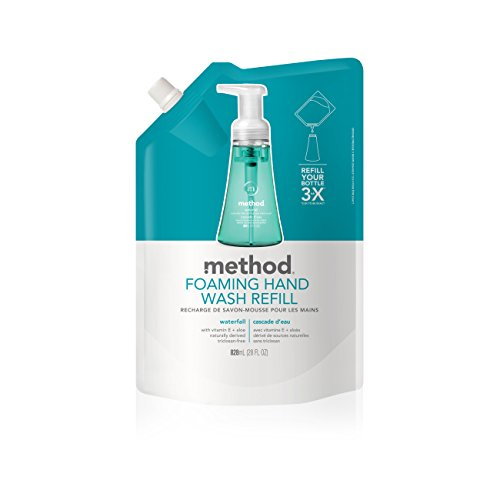 Method, Foaming Hand Wash Refill, Waterfall, 28 fl oz (828 ml)