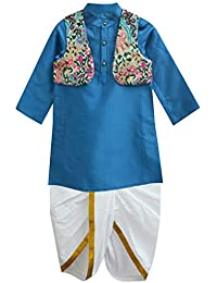 A.T.U.N. All Things Uber Nice Boys' Regular Fit Dhoti