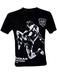 Immortal Homme Buakaw Por Pramuk Muay Thai Fight Champion T-Shirt V4