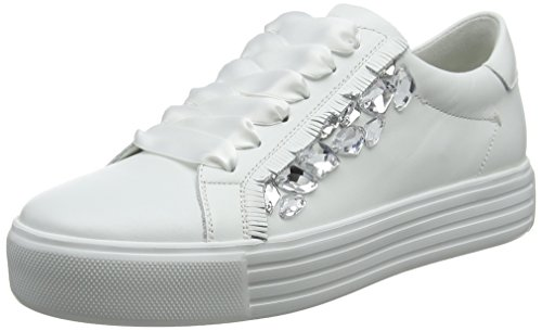 Kennel und Schmenger Damen Up Sneaker, Weiß (Bianco/Crystal Sohle Weiß), 40.5 EU (7 UK)