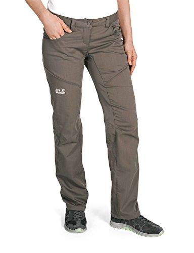 Jack wolfskin manitoba pantalon de ski pour femme Marron - Pierre de silite