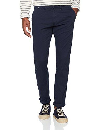Tommy Jeans Herren Original Slim Fit Chino  Chino Hose Blau (Navy Blazer 416) W30/L30 (30w Kurze)