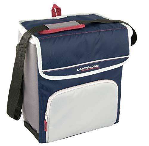 Campingaz Kühltasche Fold N Cool, dunkelblau/grau, 10 Liter (31 x 18 x 24.5 cm)