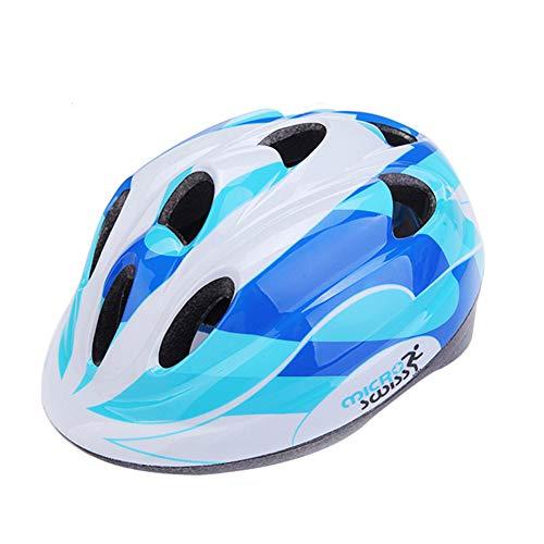 WZFC Fahrradhelm 2018 Specialized Kinder Fahrrad Helm, 53-58 cm (3~12 Jahre Alt),Blue (Kind Specialized Fahrrad Helm)