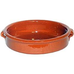 Amazing Cookware - Fuente honda (terracota, 25 cm)