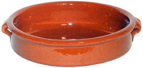 Amazing Cookware Natural Terracotta 25cm Round Dish