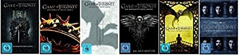 Game of Thrones - Season / Staffel 1+2+3+4+5+6 * DVD Set (Game Of Thrones Dvd 1-6)