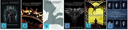 game of thrones staffel 6 deutsch dvd Game of Thrones - Season / Staffel 1+2+3+4+5+6 * DVD Set