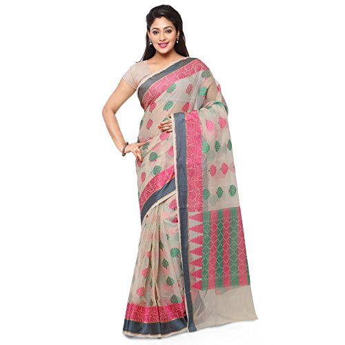 Rajnandini Cotton Sari Saree (Joplsrs1076C_Cream)