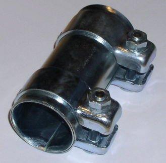 Schalldämpfer Schelle (Rohrverbinder, Innendurchmesser ca. 50 mm, Länge ca. 125 mm)