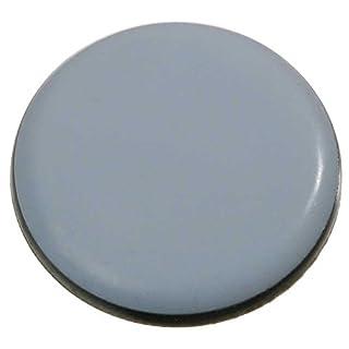4 Stück Möbelgleiter Teflon rund, selbstklebend Ø 50 mm, Stärke 5mm