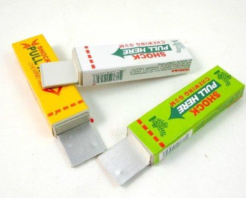 niceeshop(TM) Chewing-gum Electrique Choc, Jouet de Farce et D'Attrape