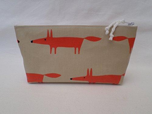 handmade-oilcloth-make-up-cosmetic-bag-scion-orange-mr-fox-mini-fabric