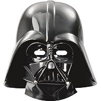 Unique Party - Careta con diseño Darth Vader, 6 piezas (71972)
