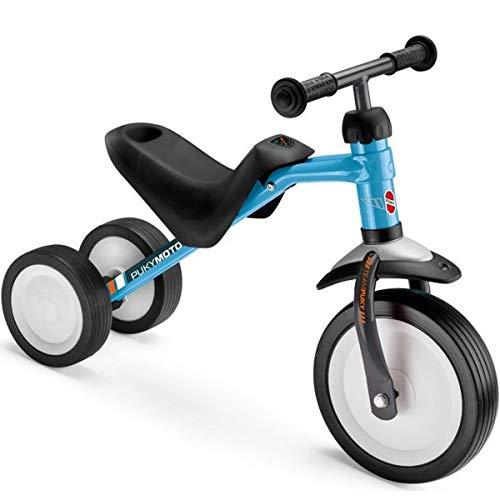 Puky PUKYmoto Kleinkinder Rutschfahrzeug Lern Laufrad blau