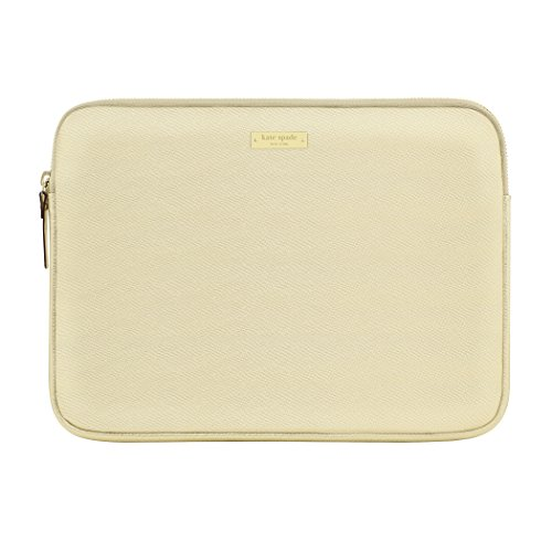 Kate Spade New York Saffiano Sleeve für 33cm MacBook/Laptop–Metallic Gold (ksmb-010-mgld) - Notebook-tasche Kate Spade